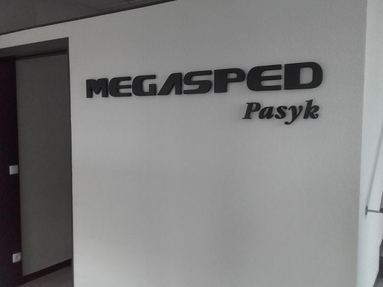 Litery przestrzenne Megaspeed