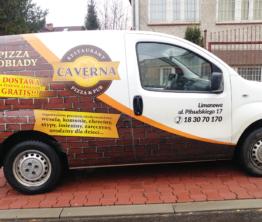 Reklama na pojazdach Caverna