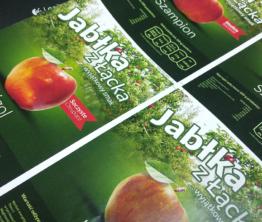 Etykiety Jabłka