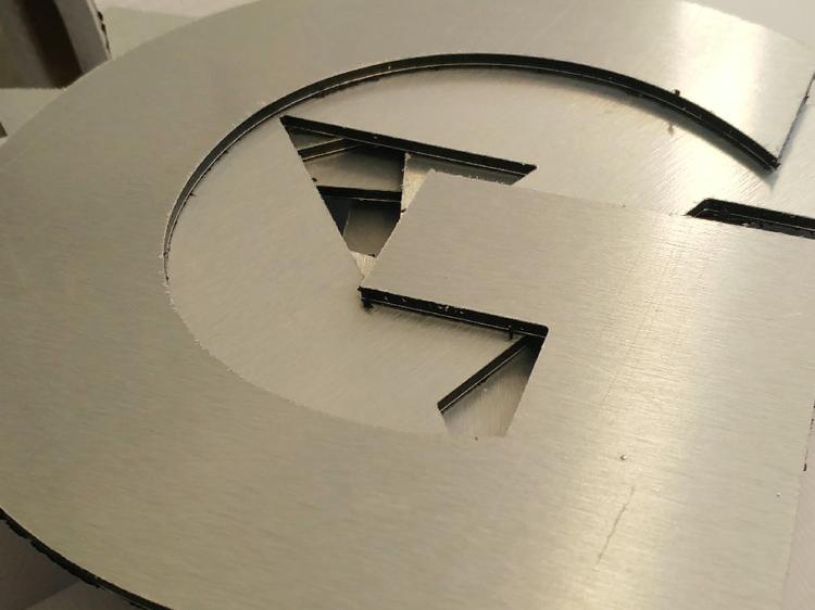 """Litery przestrzenne """"G"""""""