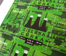 Etykiety Zielona Górka