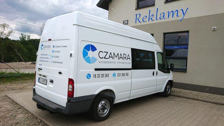 Reklama na samochodzie – Czamara