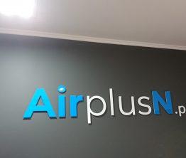 Litery przestrzenne – AirplusN