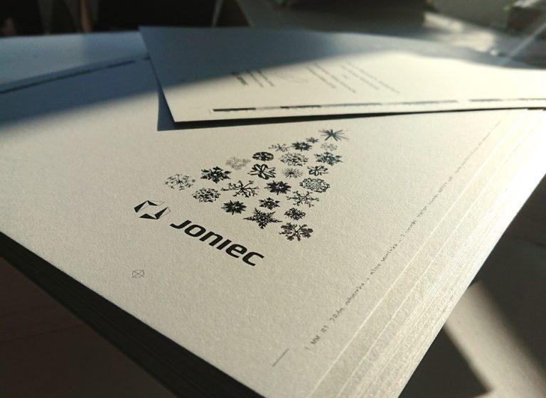 Kartka świąteczna – Joniec