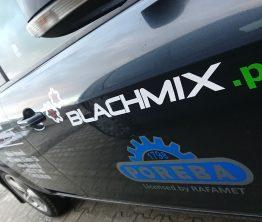 Reklama na samochodzie – Blachmix