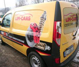 Reklama na samochodzie – Lim-cars