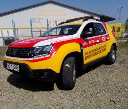 Reklama na samochodzie – Sport Rescue Team